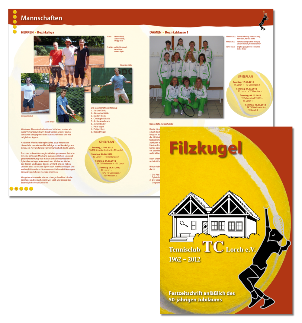 Beispiele Prospekte und Flyer – HUBERwerbung, Josef Huber, Satz- und ...